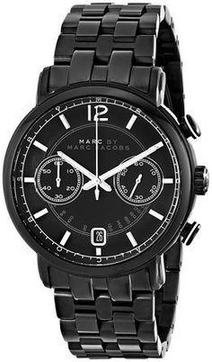 マークバイマークジェイコブス Marc by Marc Jacobs Men's MBM5065 Fergus Black Stainless Steel Watch with Link Bracelet 男性 メンズ 腕時計 【並行輸入品】
