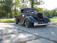 1935 Ford Truck rat rod, great potential here...