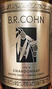 "Ken's wine review of 2015 B.R. Cohn Chardonnay ""Silver Label"""