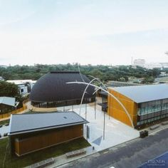 The University of Auckland's new Fale Pasifika is part meeting house and concert hall and part educational facility - Dimond V-Rib roofing Paving Design, National Treasure, Point Of View, Concert Hall, Auckland, New Zealand, Commercial, University, Landscape