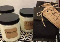 These two Shea butters will sooth your dry skin and scent your body too. enjoy