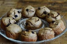 Healthy Grain free, Gluten free, Paleo Cinnamon & raisin toddler muffin