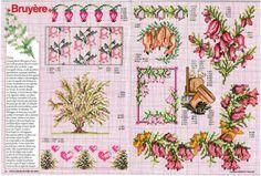 """ru / tymannost - Альбом """"Encyclopedie du point de croix ( Fleurs arbres et feuilles )"""" Pattern Books, Cross Stitch Designs, Bonsai, Needlepoint, Vintage World Maps, Embroidery, Crafts, Etsy, Gallery"""