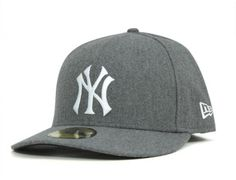 New York Yankees Cooperstown Army Twill Grey 59Fifty Fitted Baseball Cap by NEW ERA x MLB