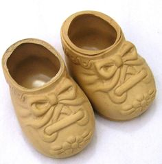 Vintage Baby Doll Shoes by Dolshoe for 1719 by VictorianWardrobe, $7.99