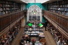 It's the kind of quiet place of contemplation where you could spend a whole afternoon plotting your next move. - Daunt Books, London