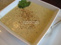 Indian Chicken and Almond Soup
