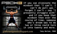 Why this p90x dropout is giving Tony Horton another chance....