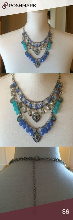 Blue • Necklace Worn handful of time • pretty and cute with many kind of outfit. Jewelry Necklaces