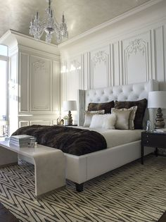 10 awesome classic master bedroom designs decoholic is one of images from classic bedroom design. Find more classic bedroom design images like this one in this gallery Master Bedroom Design, Dream Bedroom, Home Bedroom, Bedroom Furniture, Bedroom Decor, Bedroom Ideas, Bedroom Designs, Lux Bedroom, Master Bedrooms