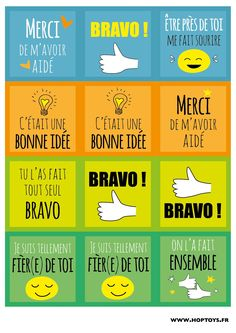 Cartes compliments Plus Education Positive, Positive Behavior, Kids Education, Bon Point, E Words, Classroom Language, School Motivation, Cycle 3, Teaching French