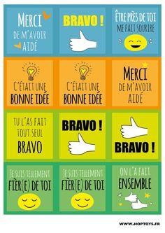 Le 1er mars c'est la journée mondiale des compliments et chez Hop'Toys on adore ces journées positives ! Alors pour cette occasion, nous vous avons concocté des cartes de compliments à donner autour de vous lors de cette journée ou à utiliser pour motiver vos loulous ! Rien de tel que des compliments pour passer …