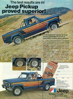 1979 Jeep Honcho Pickup Truck