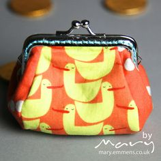 Red Letter Day frame purse by tobit_e, via Flickr