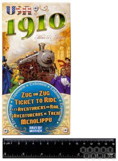 Ticket to Ride:USA 1910 | Купить настольную игру в магазинах Hobby Games