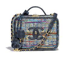 2322b75babb7 34 Best Chanel Vanity Case images   Chanel vanity case, Beige tote ...