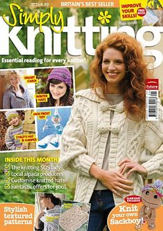 Ravelry: Simply Knitting 49, January 2009