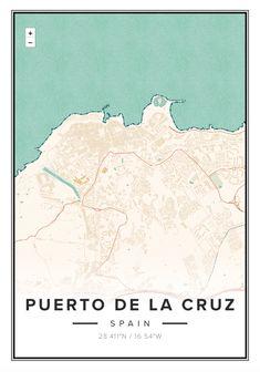 Decorative map