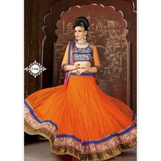 Are you looking to shop fashionable lehenga choli online? AngelNX Provided offer latest and exclusive party wear and designer lehenga choli. Buy this chanderi and velvet embroidered, patch border, resham and zari work a line lehenga choli. Bridal Lehenga Online, Designer Bridal Lehenga, Lehenga Choli Online, Lehenga Choli Wedding, Lehenga Saree, Sari, Ghagra Choli, Indian Clothes Online, Indian Sarees Online
