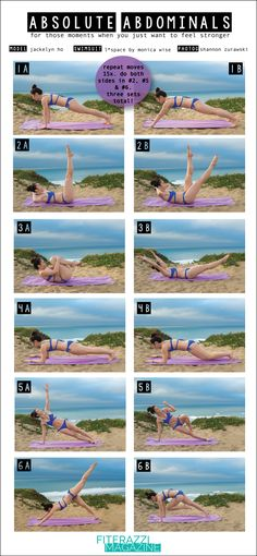 Absolute Abdominal Workout Moves