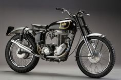 Stunning old AJS - British bikes at their very best!