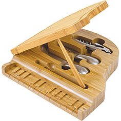 - Picnic Time Piano Cutting Board - #music #kitchen #cuttingboard #piano #musickitchen http://www.pinterest.com/TheHitman14/music-kitchen-%2B/