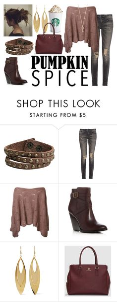 """""""Starbucks Date"""" by roses-are-red1029 ❤ liked on Polyvore featuring Zad, R13, Frye, Kenneth Jay Lane and Aéropostale"""
