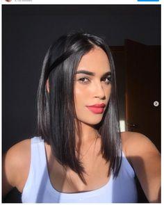 Lob Haircut Thick Hair, Lob Haircut Straight, Haircuts For Long Hair, Hairstyles Haircuts, Straight Hairstyles, Lob Layered Haircut, Long Angled Haircut, Angled Lob, Lob Cut