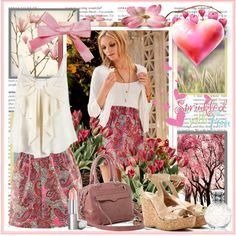 Pretty in PINK, created by fashiontake-out on Polyvore