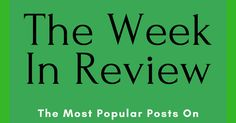 The Week in Review - Sunshine!