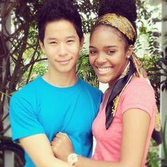 Beautiful interracial couple #AMBW #BWAM #Blasian #BLF #BlasianLoveForever