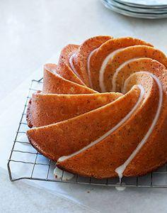 Lemon Poppy Seed Bunt Cake