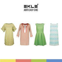 La collezione #ss16 è dedicata a una donna dalla femminilità precisa e consapevole che indossa abiti dal mood easy chic pensati per essere impeccabili in ogni situazione, qual è il vostro preferito? #ekle #StylingTips