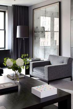 Elegantes Wohnen (Sweet Home), living Home Design, Home Interior Design, Interior Architecture, Color Interior, Design Ideas, Design Design, Design Projects, Interior Painting, Design Patterns