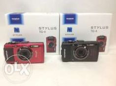 Olympus TG4 underwater camera (tg4) new (red, black color)