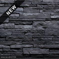 Vs Lg Graphite Ledgestone Versetta Stone Stone