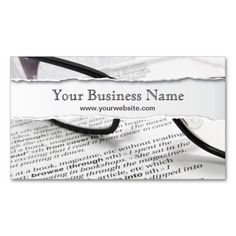 220 best editor business cards images on pinterest business cards glasses and book ripped business card reheart Image collections