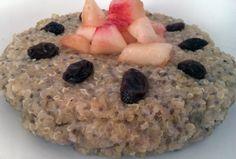Budinca de Quinoa Quinoa, Oatmeal, Breakfast, Diana, Food, The Oatmeal, Recipes, Morning Coffee, Essen