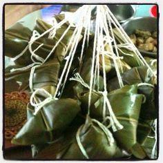Chinese rice dumpling!