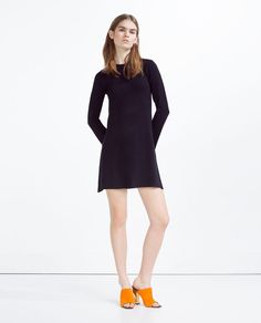 ZARA - COLLECTION SS16 - DRESS WITH A BACK ZIP