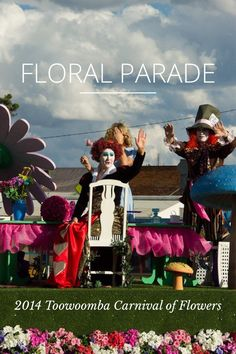 2014 Toowoomba Carnival of Flowers parade - well I was actually in the parade, as part of the USQ float :) Queensland Australia, Australia Travel, Stencil Templates, Carnival, Floral, Flowers, Fun, Movie Posters, Photography