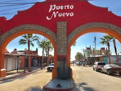 Welcome to the lobster village! Puerto Nuevo Begin your adventure by visiting: www.Travel Photo by . Baja California, Rosarito Beach, Travel Trip, Surfing, Street View, Adventure, Destiny, Turismo, Surf