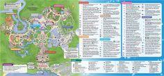 Map of the Magic Kingdom at Walt Disney World in Orlando, FL Walt Disney World, Disney World Florida, Disney World Vacation, Disney World Resorts, Disney Vacations, Disney Travel, Magic Kingdom Map, Disney World Magic Kingdom, Disney Vacation Planning