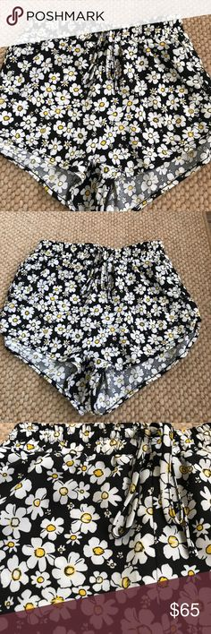 LF Mika & Gala - Daisy Shorts LF Mika & Gala - Daisy Shorts. Purchased at LF  NWOT - never worn!   Elastic waist with drawstring.   AU size 8 = US Size 4/ Small  Great festival shorts! LF Shorts