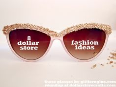 8 dollar store fashion ideas