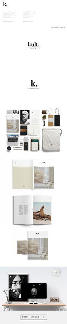 kult. branding & design atelier on Behance - created via http://pinthemall.net
