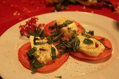 Caprese salad Hotel Costa Coral Restaurant, Tambor, Costa Rica #fun #vacation #family #food #foodie