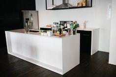 Team Red's minimalist kitchen design. #DreamBuilders