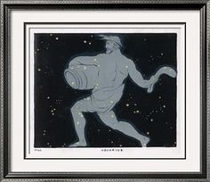 The Constellation of Aquarius, a Figure of a Man Carrying a Jar of Water By Charles F. Bunt  $49.99