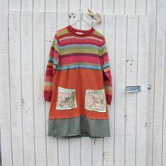 funky upcycled clothing / dress by CreoleSha